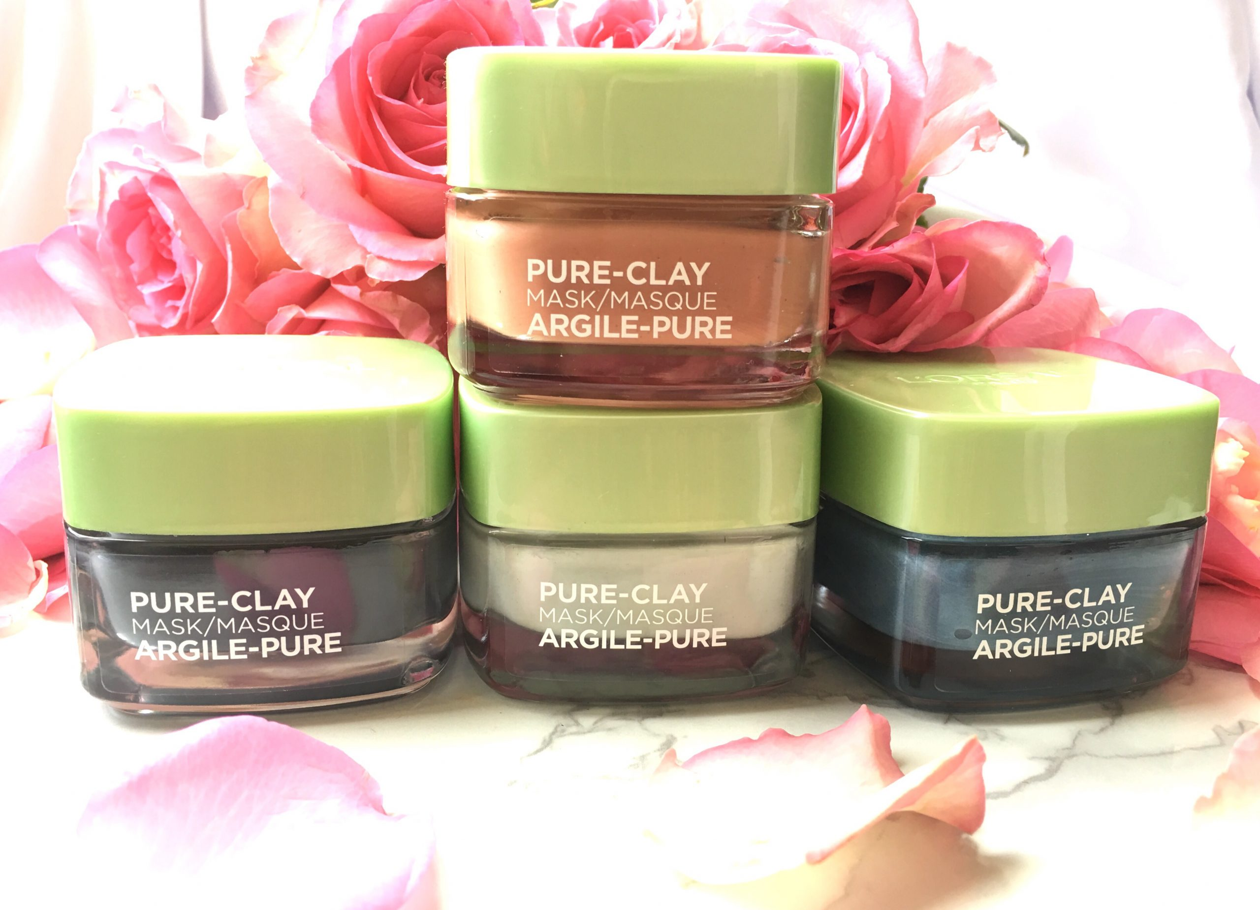 Multi-Masking with L'Oreal Pure Clay Masks