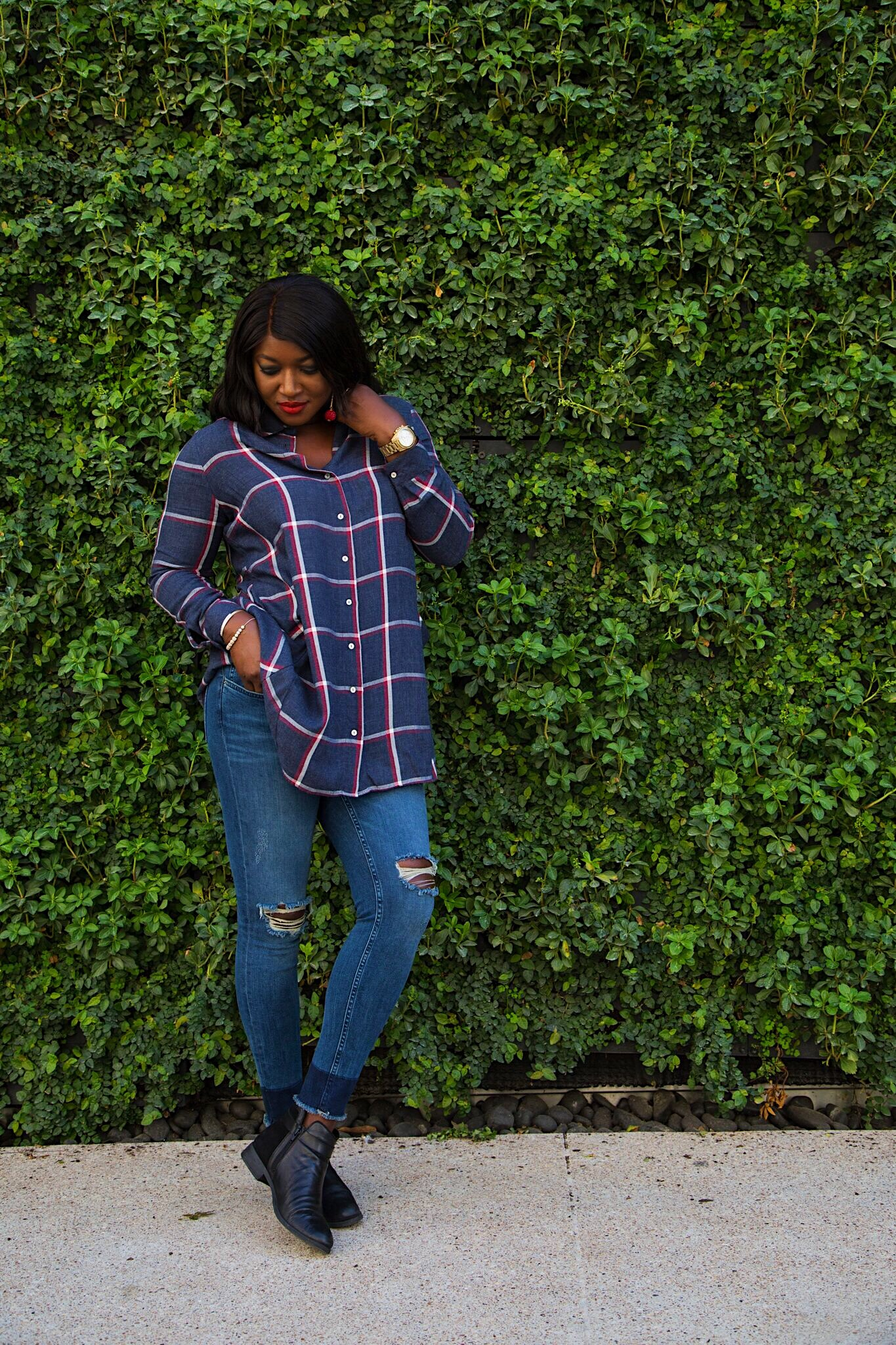 Plaid: how I wore one of fall's biggest trend