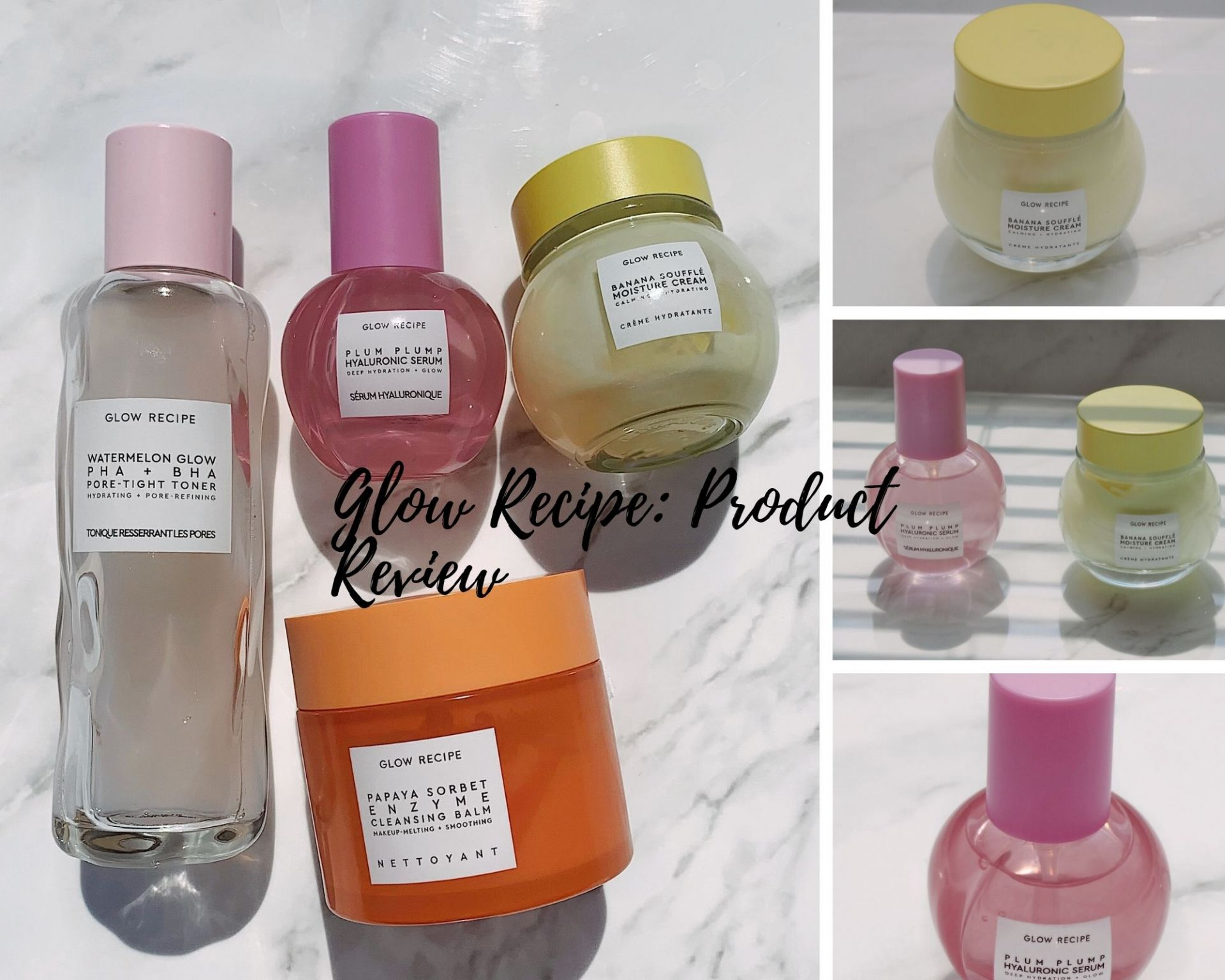 Glow Recipe Product Review