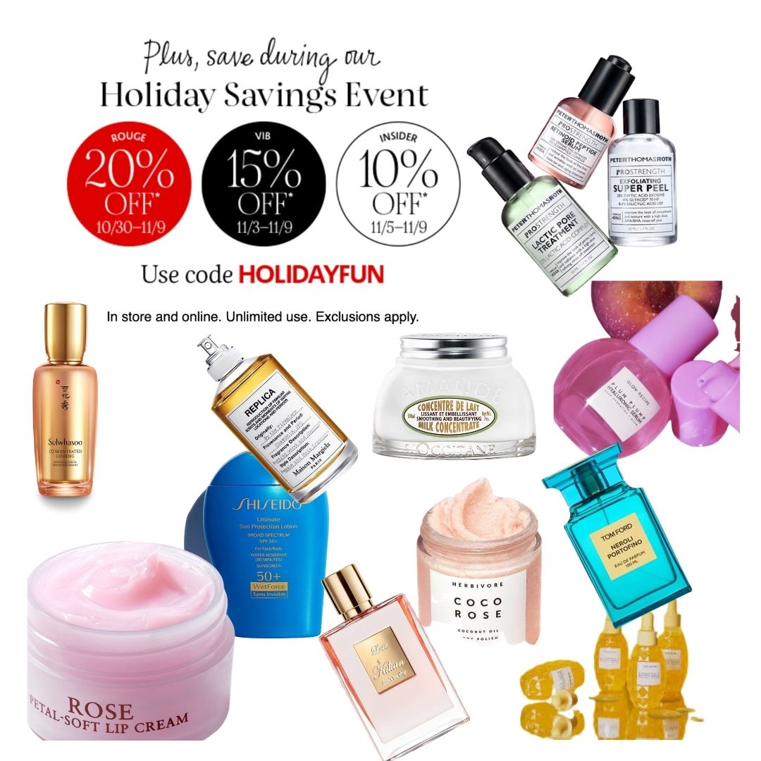 Sephora Holiday sale event