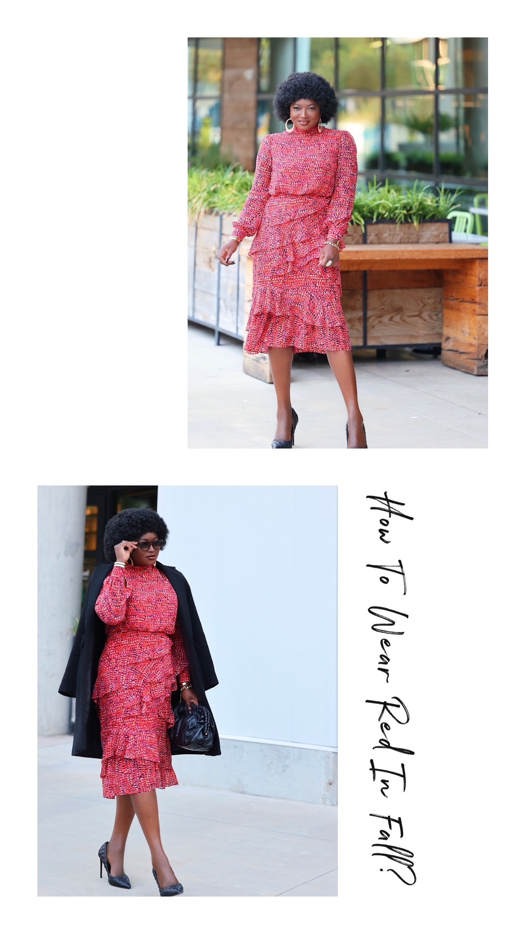 Red Dress – How To Wear Red In Fall?